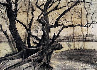 Tree Roots - Image: Vincent van Gogh Study of a Tree (F933)