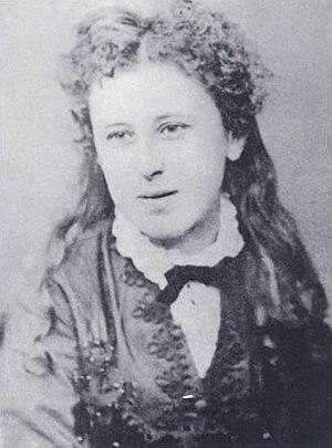 Vernon Lee - Violet Paget, circa 1870