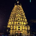 Virupaksha temple (Night view) , Hampi.jpg