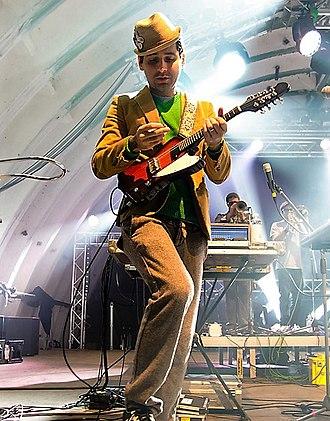 Visitante - Visitante performing at Fusion Festival in 2011.