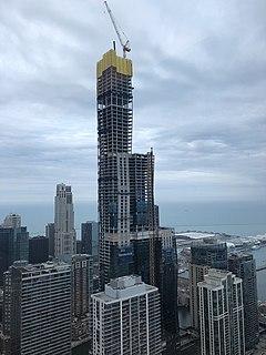 Vista Tower (Chicago) Supertall skyscraper under construction in Chicago, Illinois, U.S.