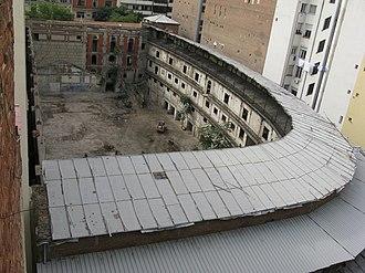 Beti Jai fronton - Image: Vista aérea del Frontón Beti Jai (Madrid)