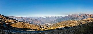 Vista de los Andes, Abancay, Perú, 2015-07-30, DD 69-71 PAN.JPG