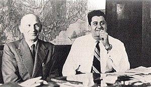 Vittorio Jano - Jano and Gianni Lancia.