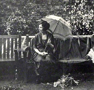 Vivienne Haigh-Wood Eliot - Photographed by Lady Ottoline Morrell, 1920