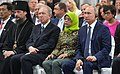 Vladimir Putin and President of Singapore Halimah Yacob attended the groundbreaking ceremony for a Russian Cultural Centre. 07.jpg