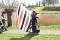 Vlaggen waren erg groot bij de geuzen 1 april spel Brielle.jpg