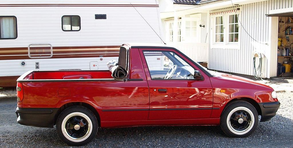File Volkswagen Caddy Pickup 9u Jpg Wikimedia Commons