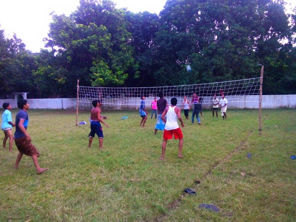 Volleyball in Lalgola