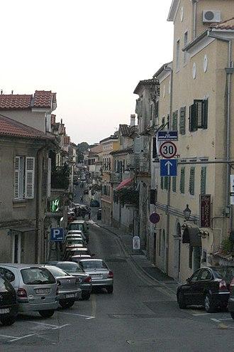 Volosko - Volosko streets