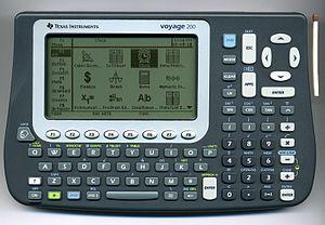 TI-92 series - Image: Voyage 200