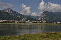Skyline of Vratsa
