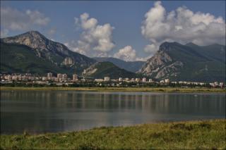 Vratsa Town in Bulgaria