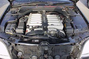 Mercedes-Benz M120 engine - M120 S600 (1994), 290 kW (400PS)