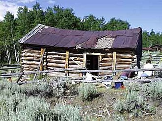 Miner's Delight, Wyoming - The Bureau of Land Management has worked toward the preservation of the ruins of Miner's Delight.