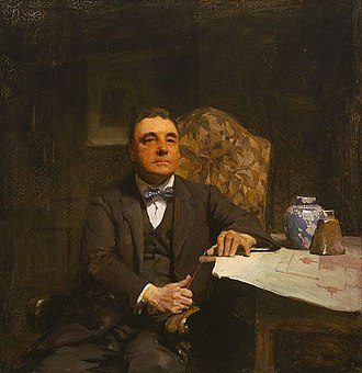 Archibald Prize - Desbrowe Annear by W B McInnes, the first Archibald Prize winner (1921)