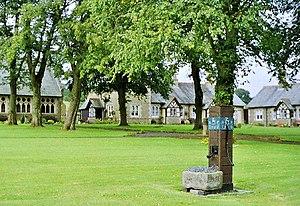 Waddington, Lancashire - Image: Waddington Almshouses (formerly Waddington Hospital) geograph.org.uk 54072