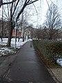 Walkway in Újhegy Park, 2018 Kőbánya.jpg
