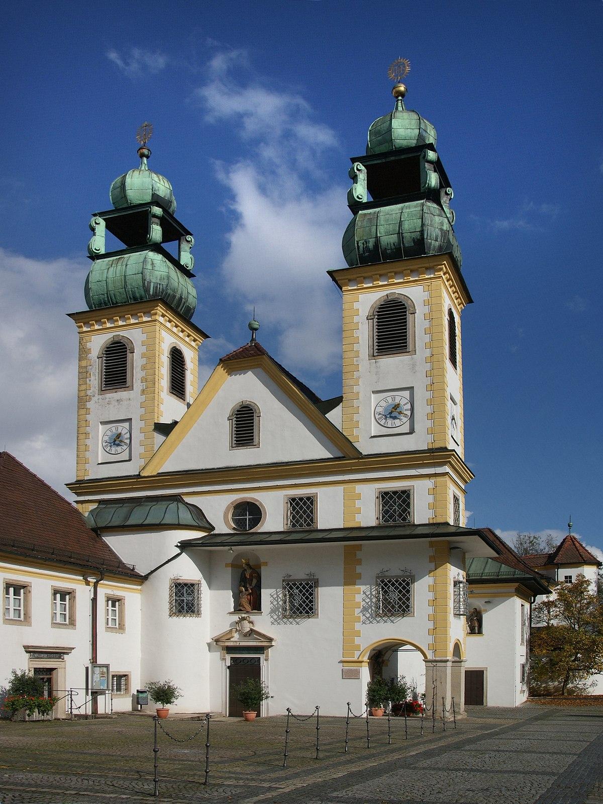 Wallfahrtskirche Mariahilf (Passau) – Wikipedia