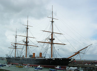 Portsmouth - Image: Warrior 1