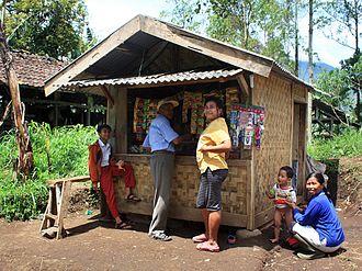 Warung - A village warung in Garut, West Java