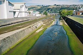 Water of Leith (New Zealand) - Water of Leith close to its mouth in Dunedin