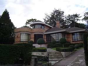 Heidelberg, Victoria - Art deco residence, typical of the area's style