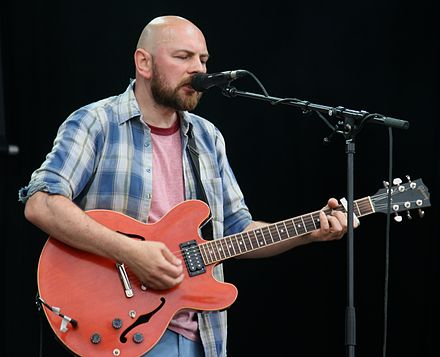 Guitarist Carl Brown performing at Jodrell Bank Live Wave Machines at Jodrell Bank 1.jpg
