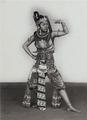 Wayang wong, Mangkunagaran. Djaikem (also Nyai Bei Mardusari or Bu Bei Mardusari) as Gatutkatja. Mangkunagaran, Surakarta, 1931-1937.png