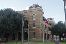 The Webb County Courthouse in Laredo