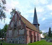 Weltzin Kirche Ostgiebel