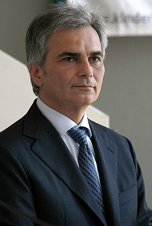 Austrian legislative election, 2008 - Image: Werner Faymann Wien 08 2008a
