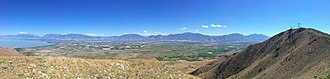 West Mountain (Utah County, Utah) - Image: West Mountain Panoramic