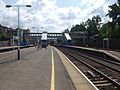 West Hampstead Thameslink stn fast look south June 09.JPG