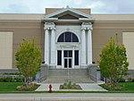 West entrance of the Jordon Commons theater & restaurant building, Apr 16.jpg