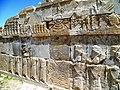Western staircase of Hadish Persepolis 2014 (2).jpg