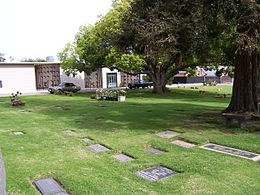 Westwood Village Memorial Park Cemetery view to southeast.jpg