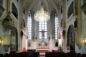 Court chapel - The Hofburg chapel, Vienna