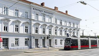 So kommt man zu Bahnhof Wien Nussdorf mit den Öffentlichen - Mehr zum Ort Hier