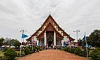 Wihan Phra Mongkhon Bophit, Ayutthaya, Tailandia, 2013-08-23, DD 08.jpg