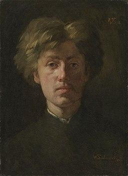 Wilhelm Trübner - Selbstbildnis - L 2112 - Bavarian State Painting Collections