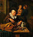 Willem van Mieris - Sleeping Hurdy-Gurdy Man - Hampel-78010059.jpg