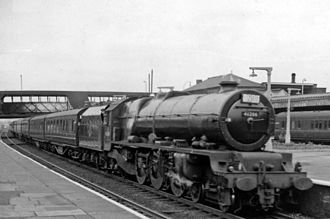 Football Specials - A Football Special train in 1962.