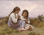 William-Adolphe Bouguereau (1825-1905) - A Childhood Idyll (1900).jpg