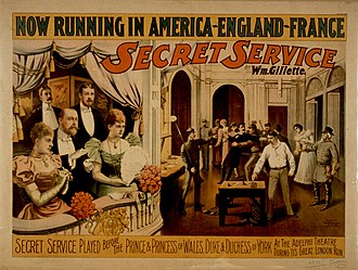 William Gillette - Secret Service