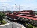 Wilmington Station from parking garage, July 2014.JPG