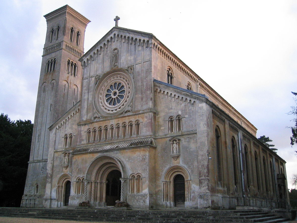 romanesque revival architecture in the united kingdom