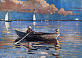 Winslow Homer - Gloucester Harbor (1873, watercolour).jpg