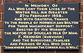 Winter Hill Air Disaster Memorial Plaque.JPG