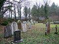 Wintry churchyard, Llanychaer - geograph.org.uk - 299226.jpg